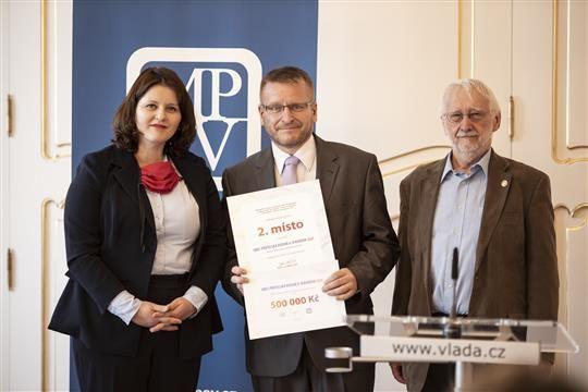 2.místo v soutěži Obec přátelská seniorům od MPSV