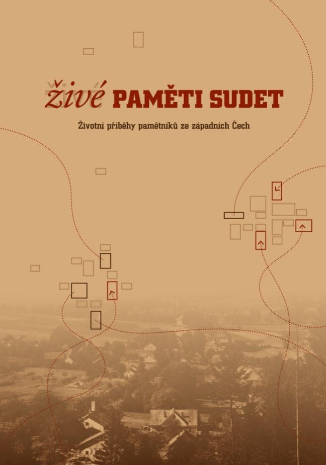 Obálka knihy Živé paměti Sudet